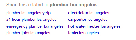 Google Search - Plumber Los Angeles