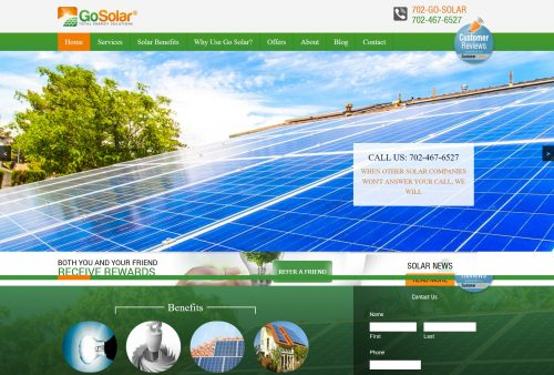 go solar home page