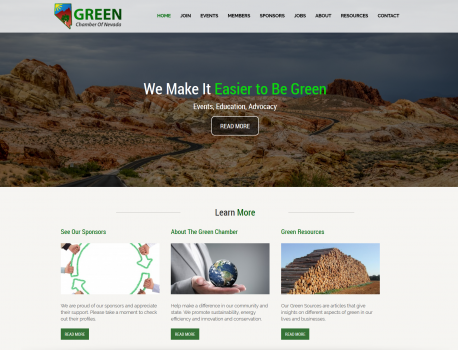 green chamber home page2