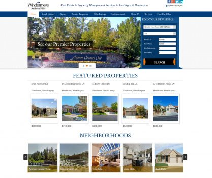 windermere home page