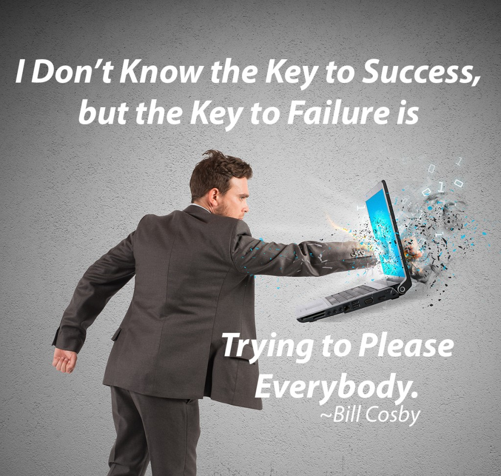 Key to Success Quote Bill Cosby