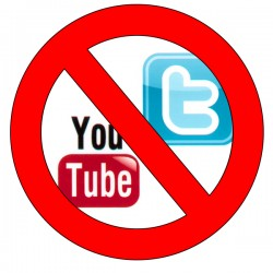 No YouTube No Twitter
