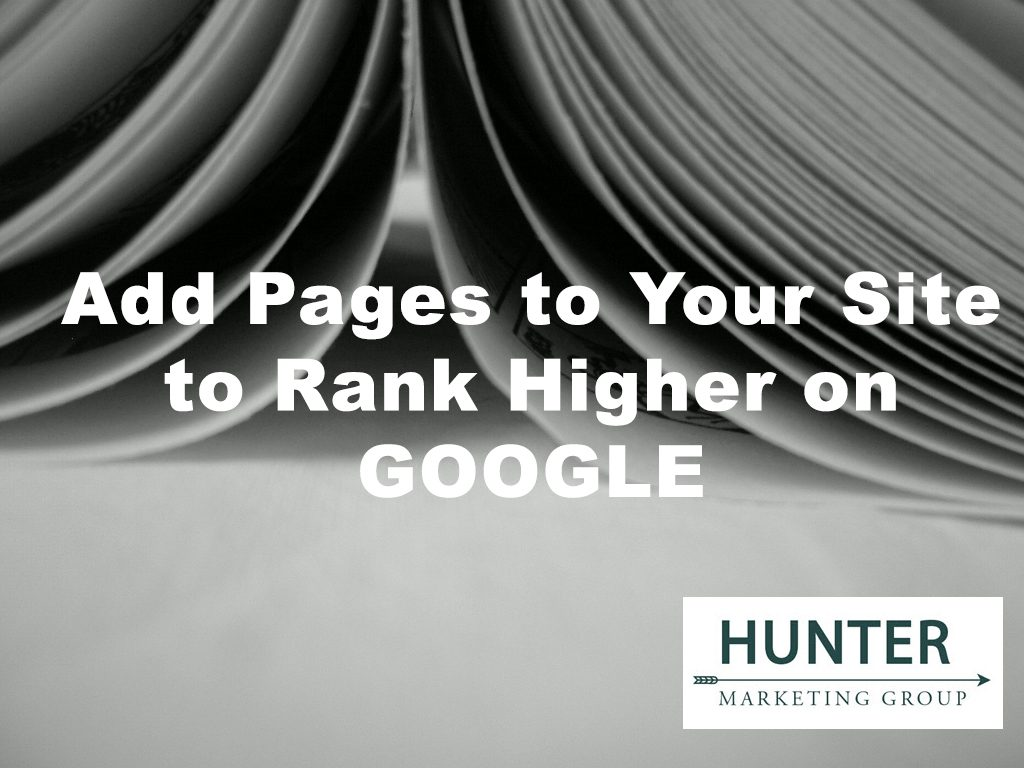 Increase Pages to Rank Higher on Google